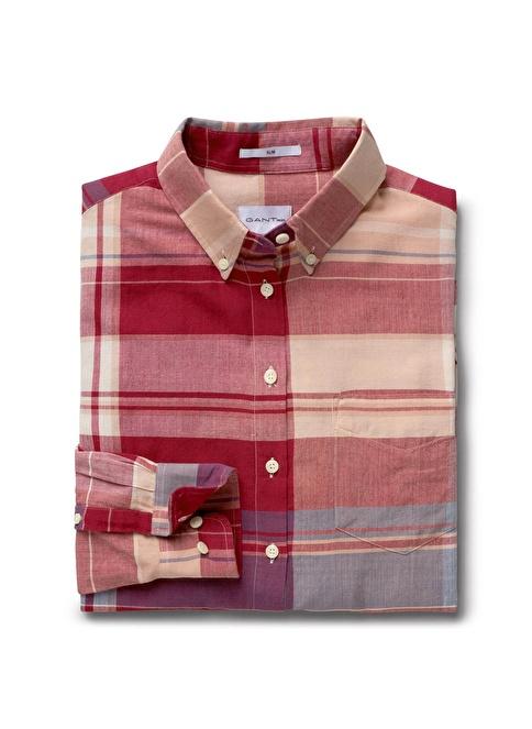 Gant Slim Gömlek Kırmızı